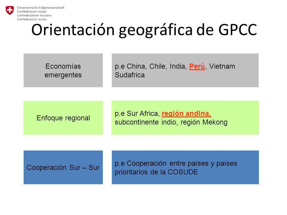 Orientación geográfica de GPCC