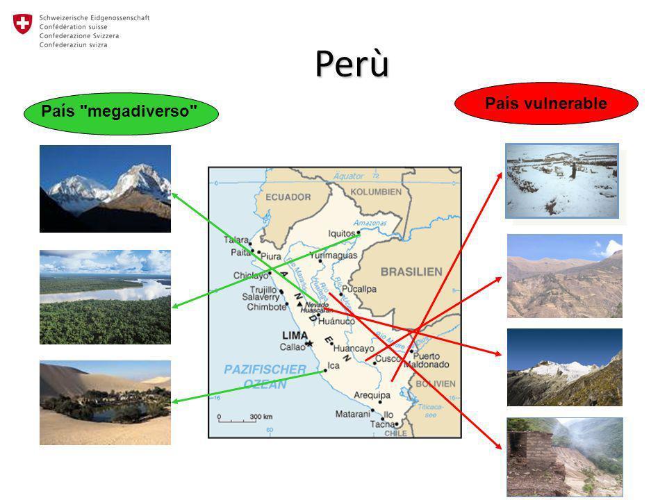 Perù País vulnerable País megadiverso