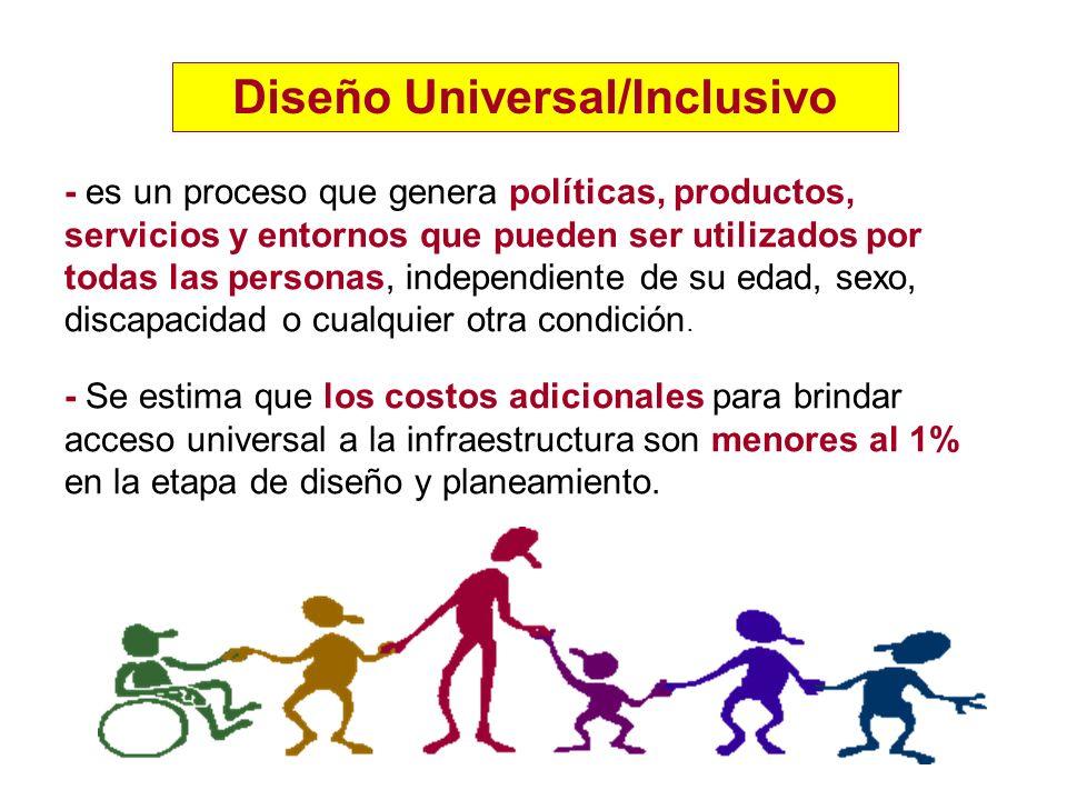 Diseño Universal/Inclusivo
