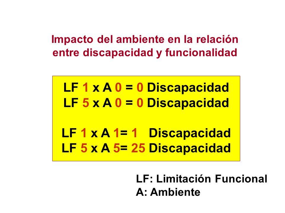Impacto del ambiente en la relación entre discapacidad y funcionalidad