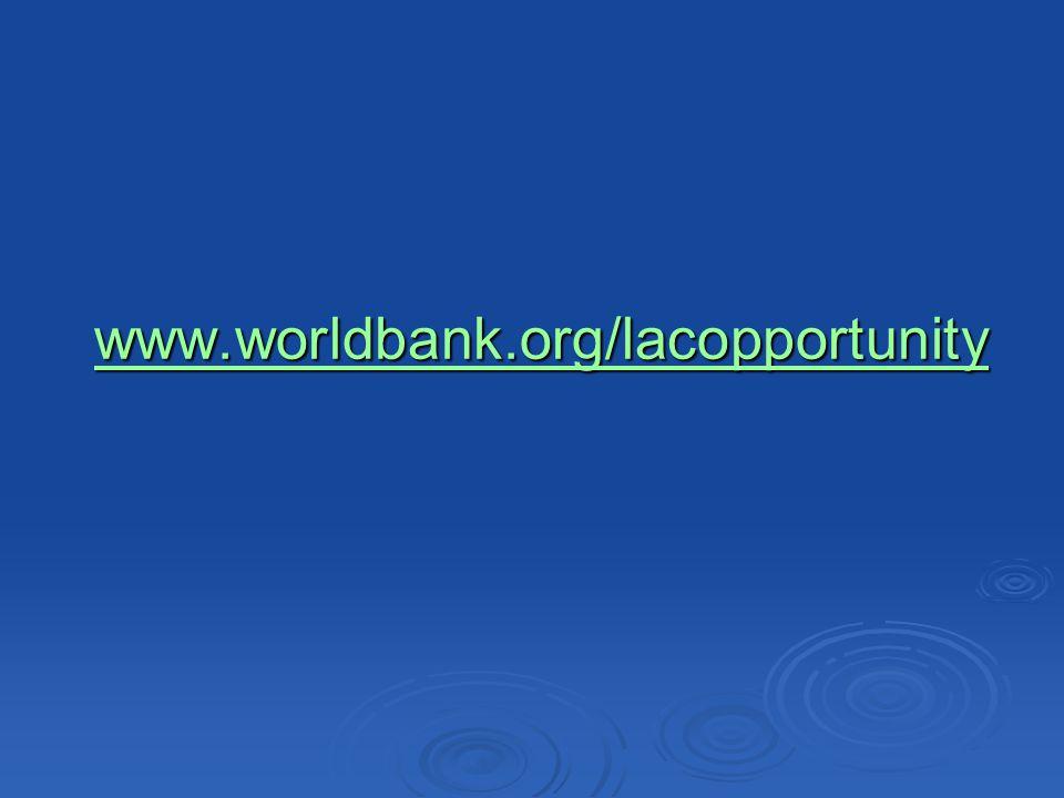www.worldbank.org/lacopportunity