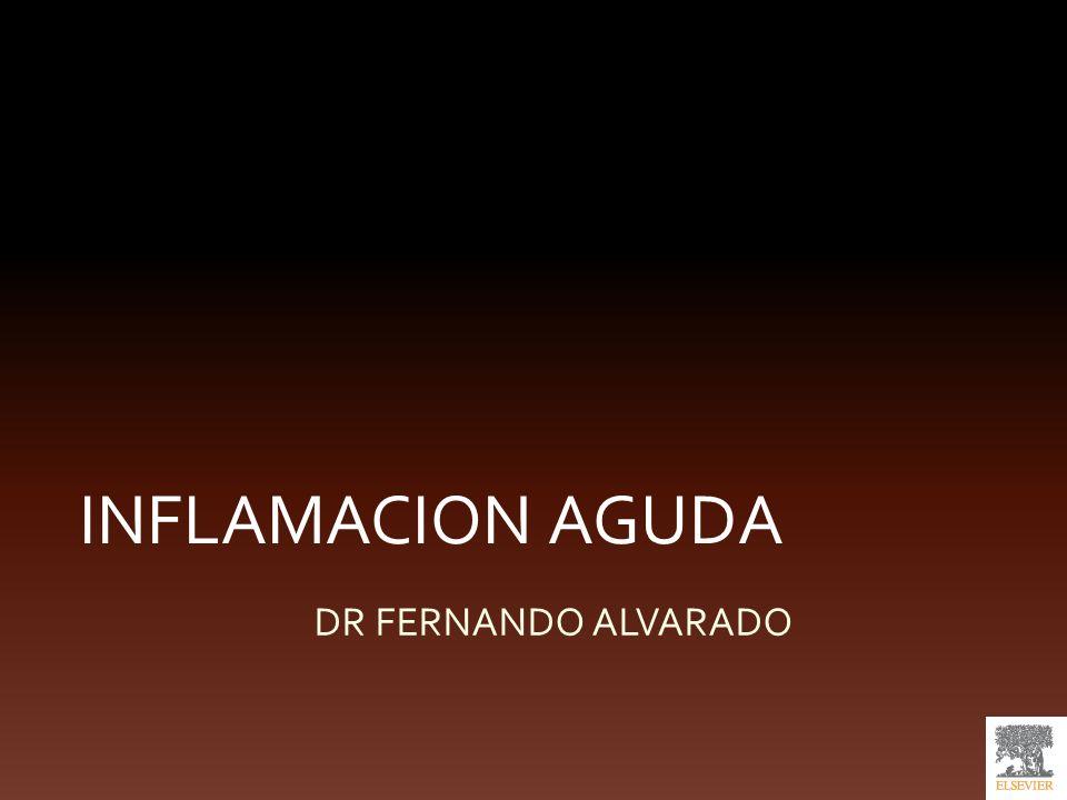 INFLAMACION AGUDA DR FERNANDO ALVARADO