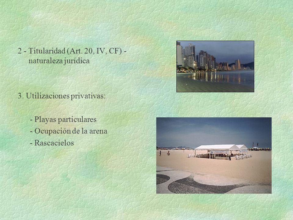 2 - Titularidad (Art. 20, IV, CF) -naturaleza jurídica