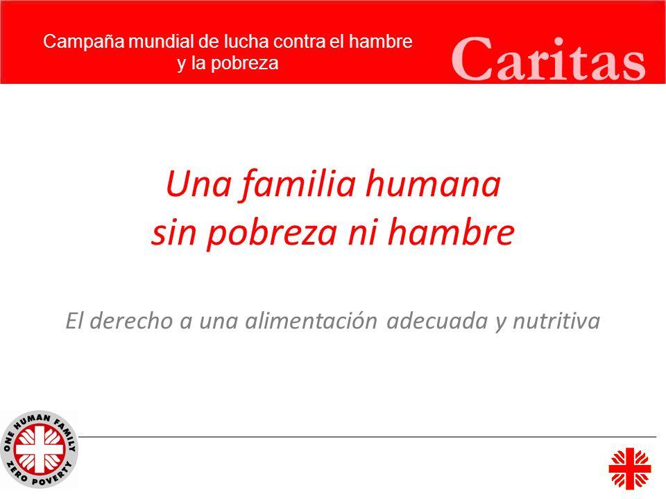 Campaña mundial de lucha contra el hambre
