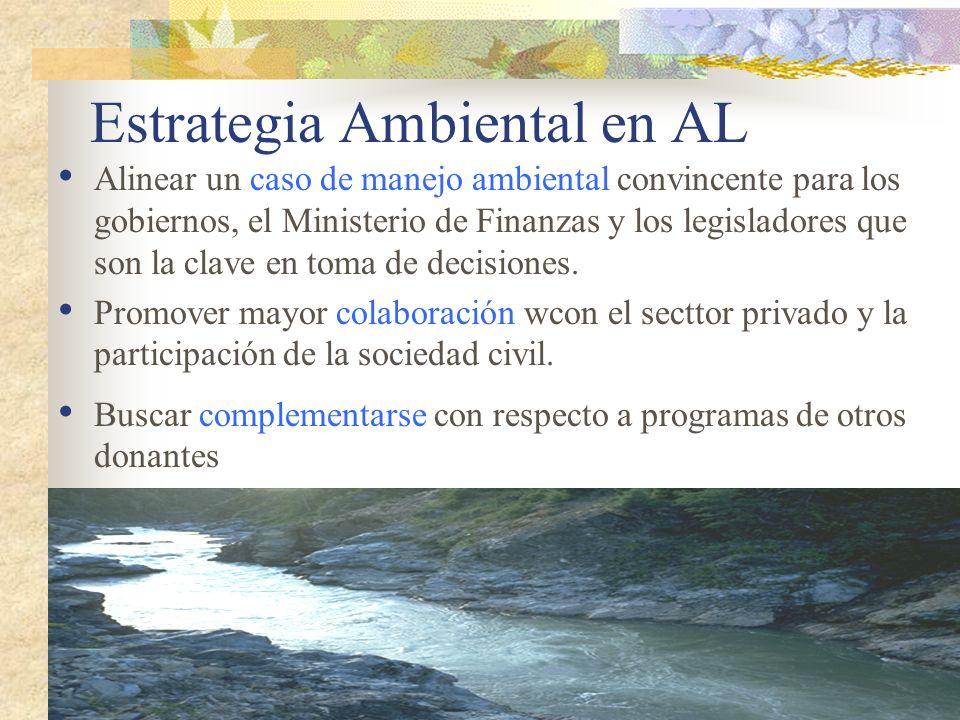 Estrategia Ambiental en AL