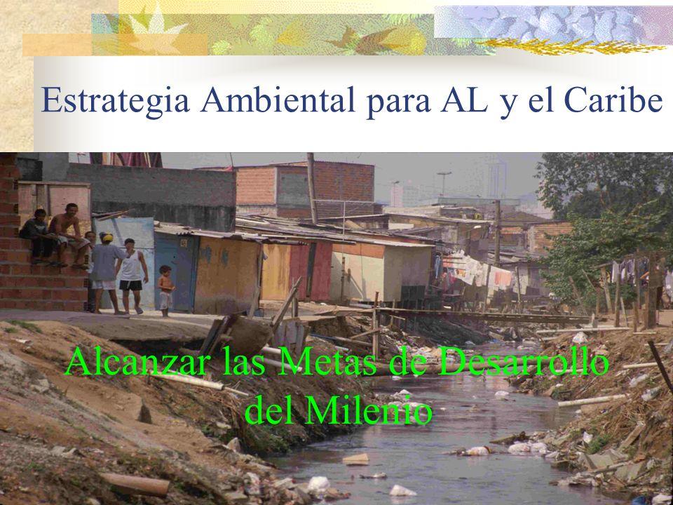 Estrategia Ambiental para AL y el Caribe