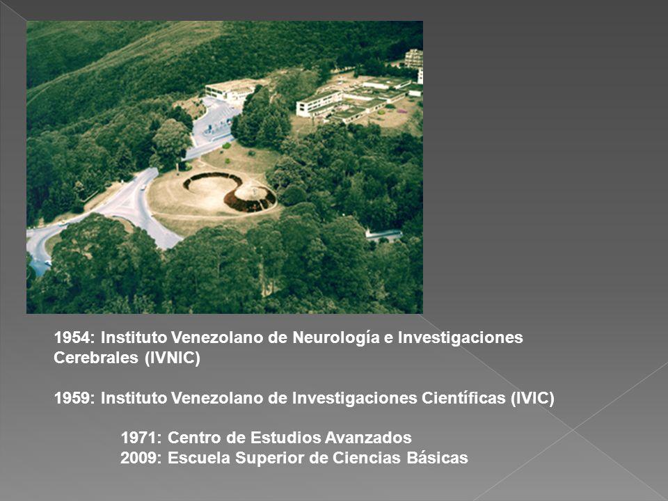 1954: Instituto Venezolano de Neurología e Investigaciones Cerebrales (IVNIC)