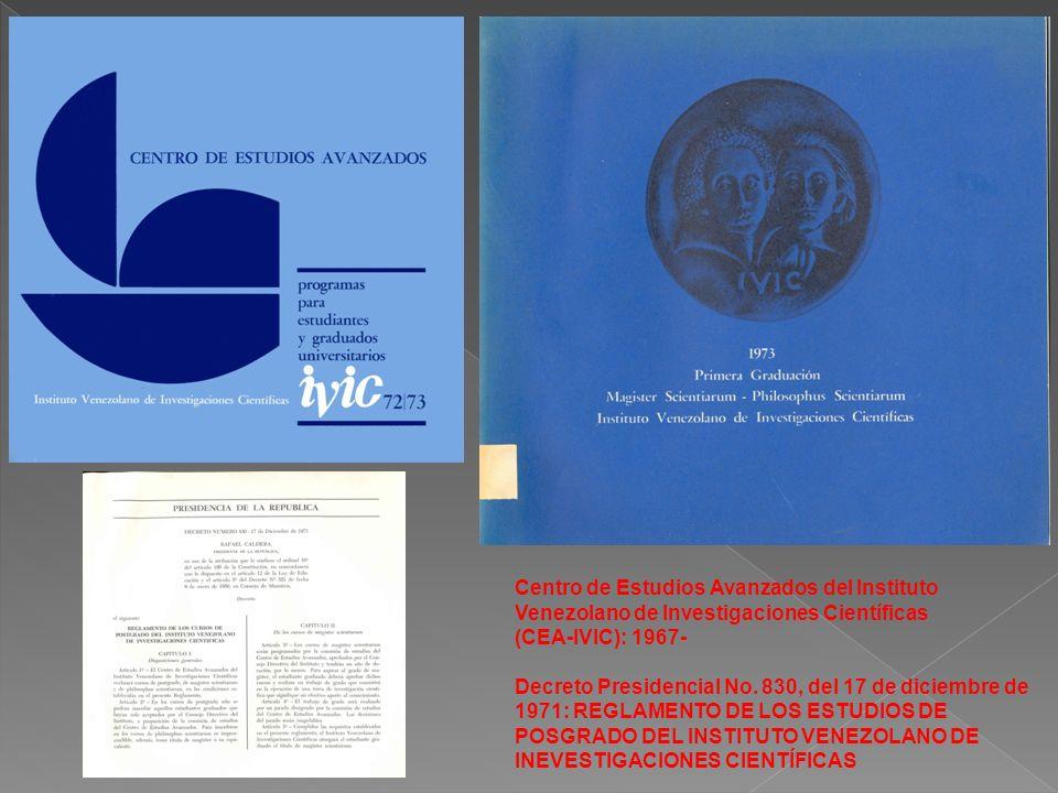 Centro de Estudios Avanzados del Instituto Venezolano de Investigaciones Científicas