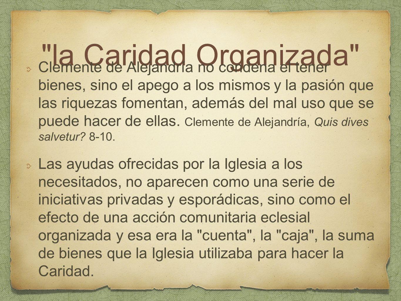 la Caridad Organizada