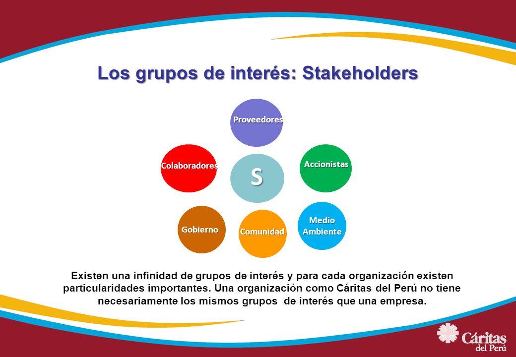 Los grupos de interés: Stakeholders
