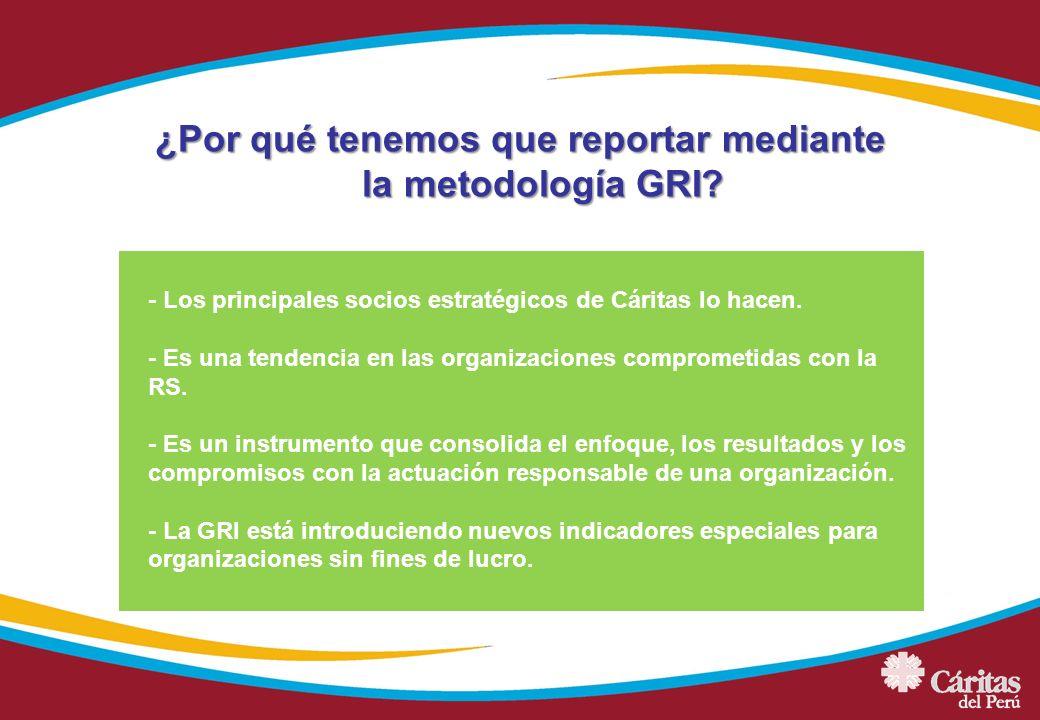 ¿Por qué tenemos que reportar mediante la metodología GRI