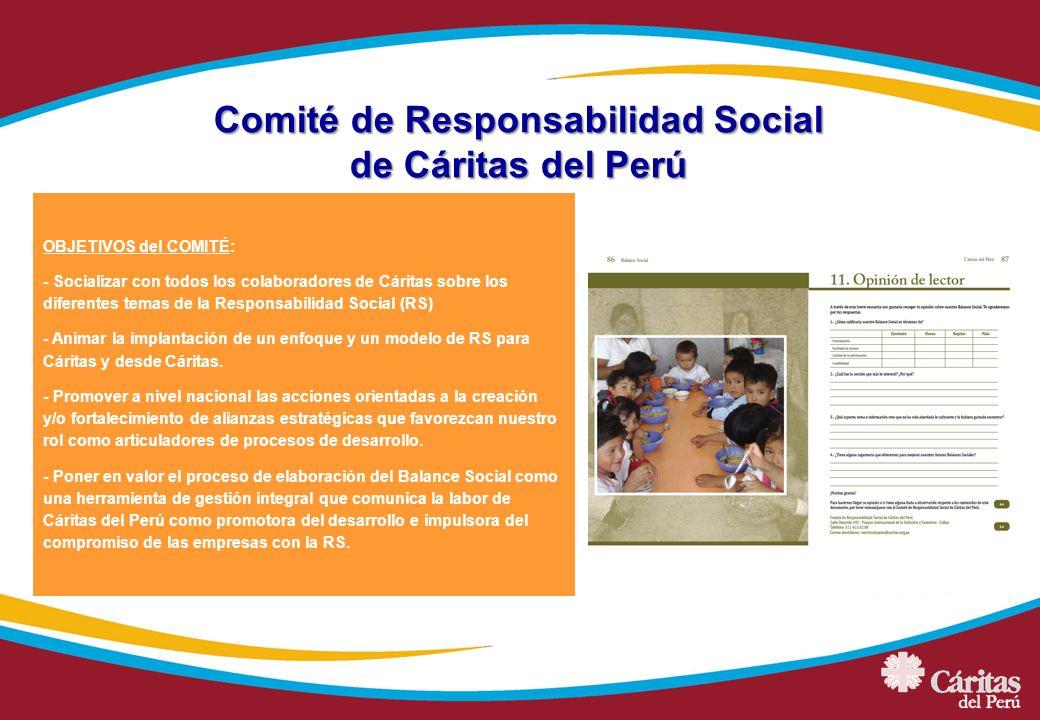 Comité de Responsabilidad Social de Cáritas del Perú
