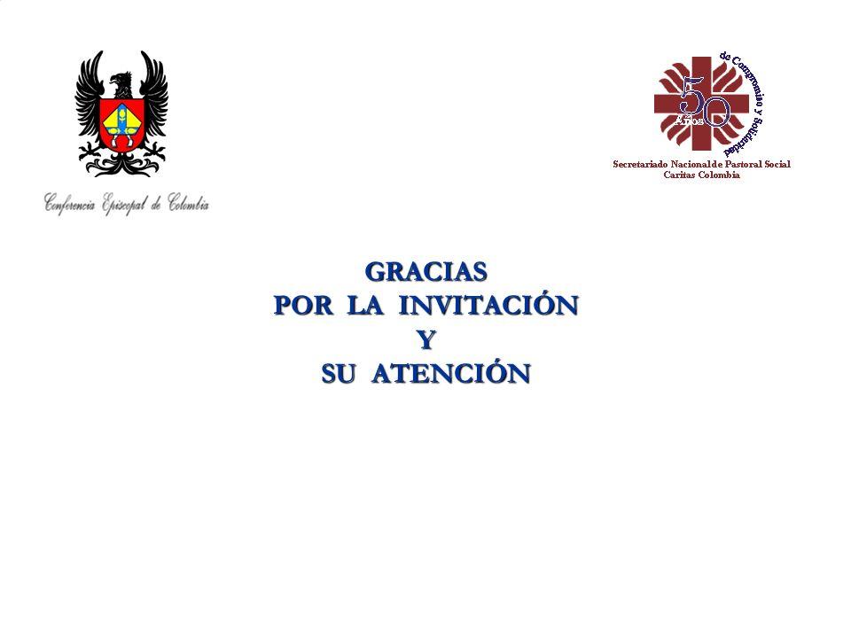 GRACIAS POR LA INVITACIÓN Y SU ATENCIÓN