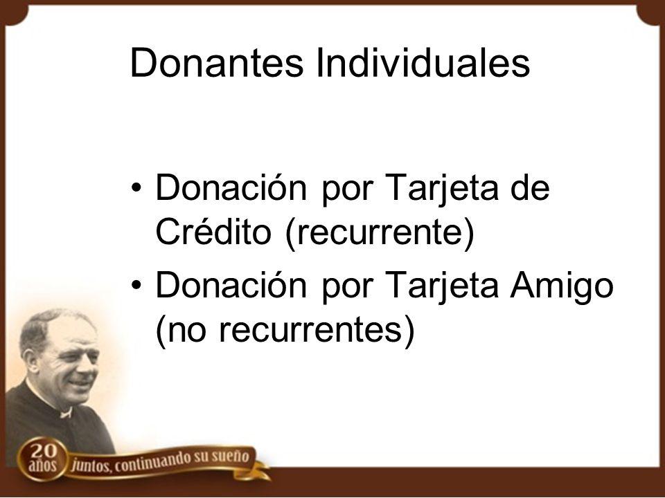 Donantes Individuales