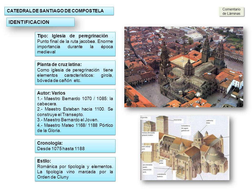 IDENTIFICACION CATEDRAL DE SANTIAGO DE COMPOSTELA