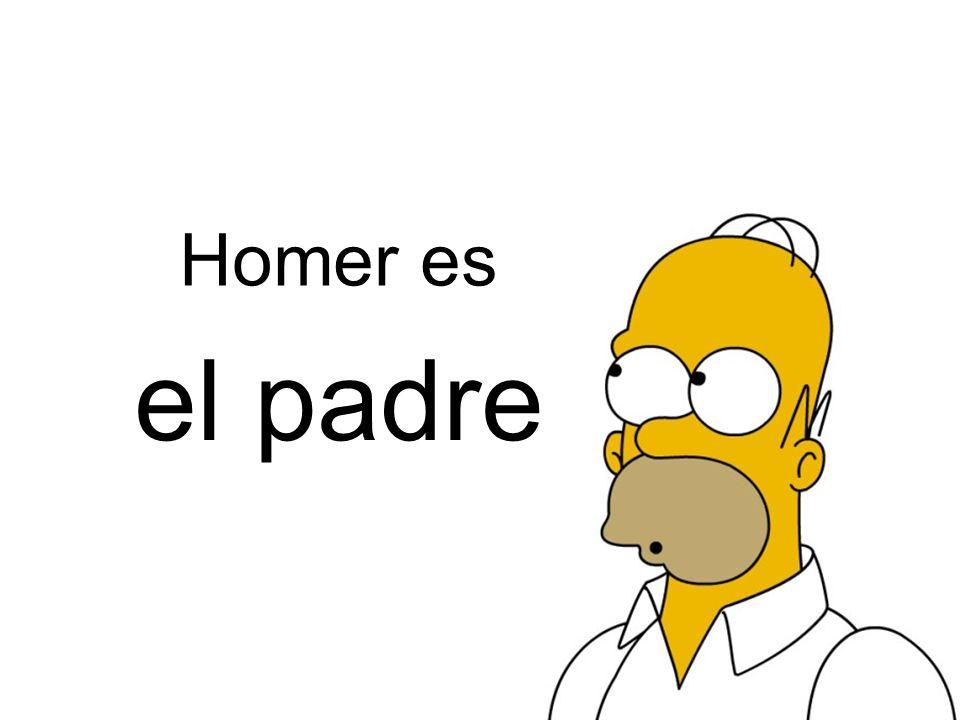 Homer es el padre