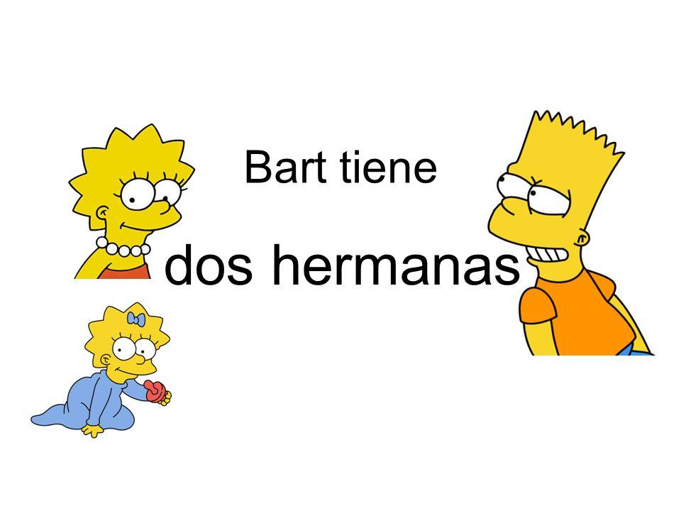 Bart tiene dos hermanas