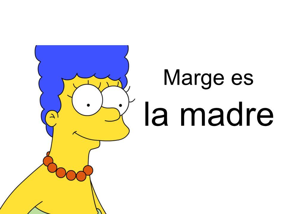 Marge es la madre