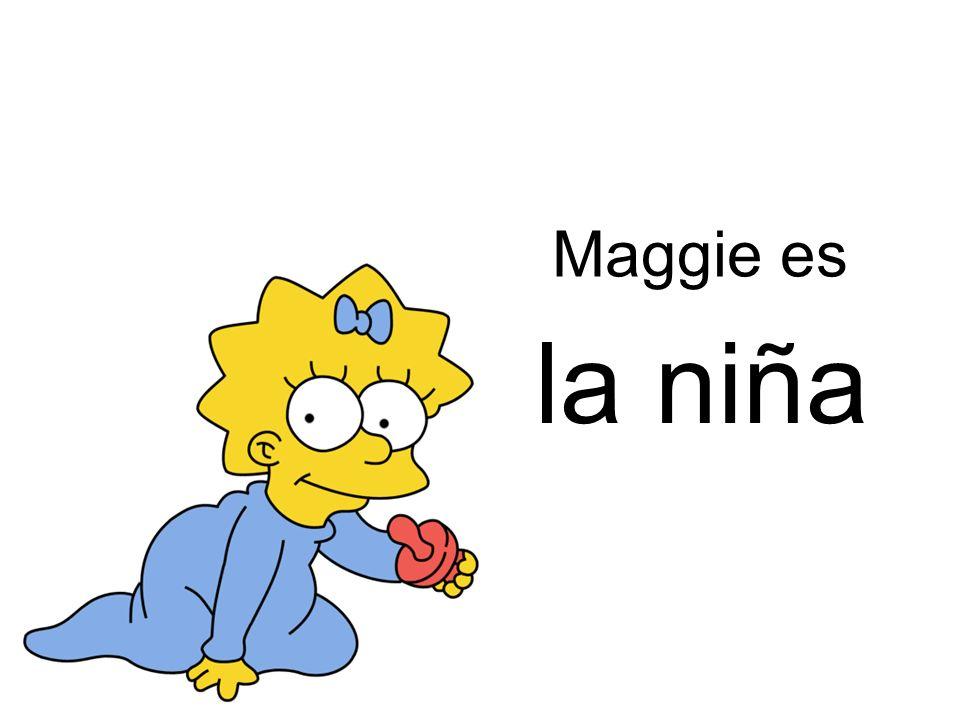 Maggie es la niña