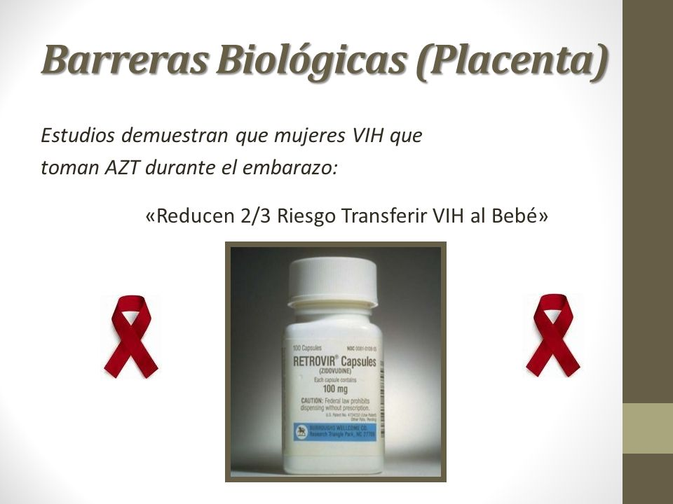 Barreras Biológicas (Placenta)