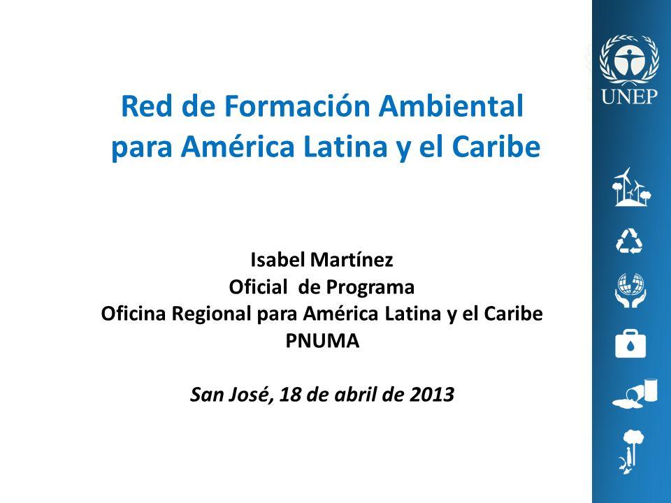 Red de Formación Ambiental para América Latina y el Caribe