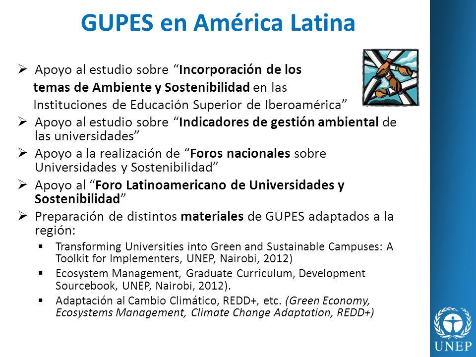 GUPES en América Latina