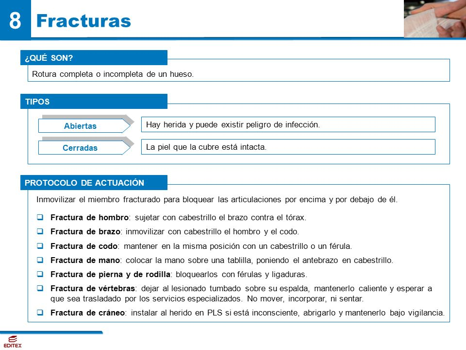 8. Emergencias y primeros auxilios SUMARIO - ppt video ... - photo#46