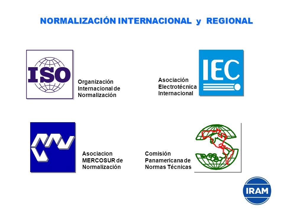 NORMALIZACIÓN INTERNACIONAL y REGIONAL