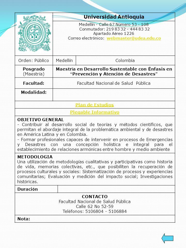 Universidad Antioquia