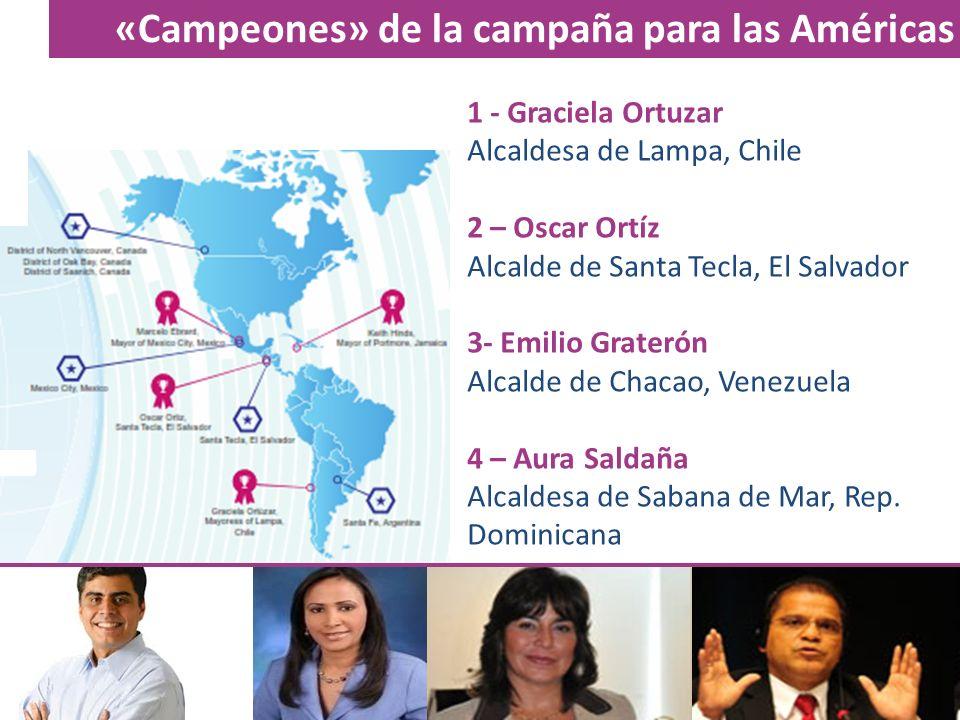 «Campeones» de la campaña para las Américas