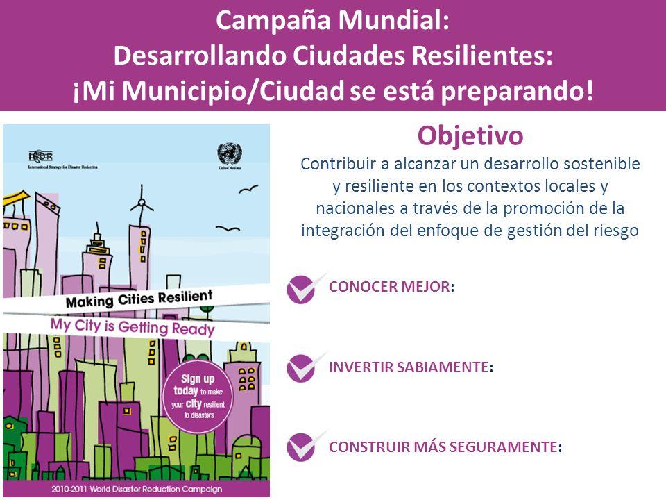 Desarrollando Ciudades Resilientes: