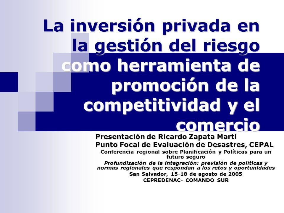 San Salvador, 15-18 de agosto de 2005 CEPREDENAC- COMANDO SUR
