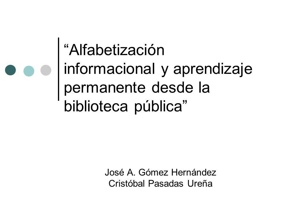 José A. Gómez Hernández Cristóbal Pasadas Ureña