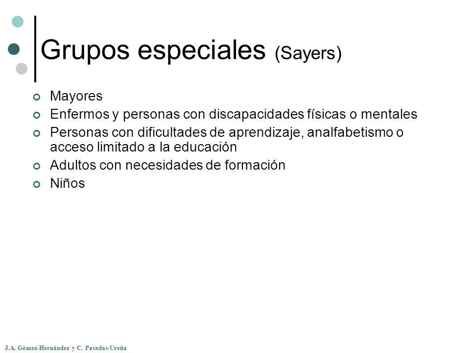 Grupos especiales (Sayers)