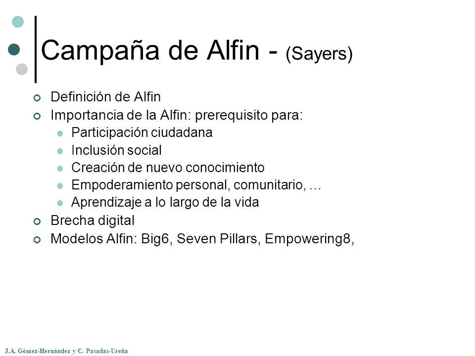 Campaña de Alfin - (Sayers)