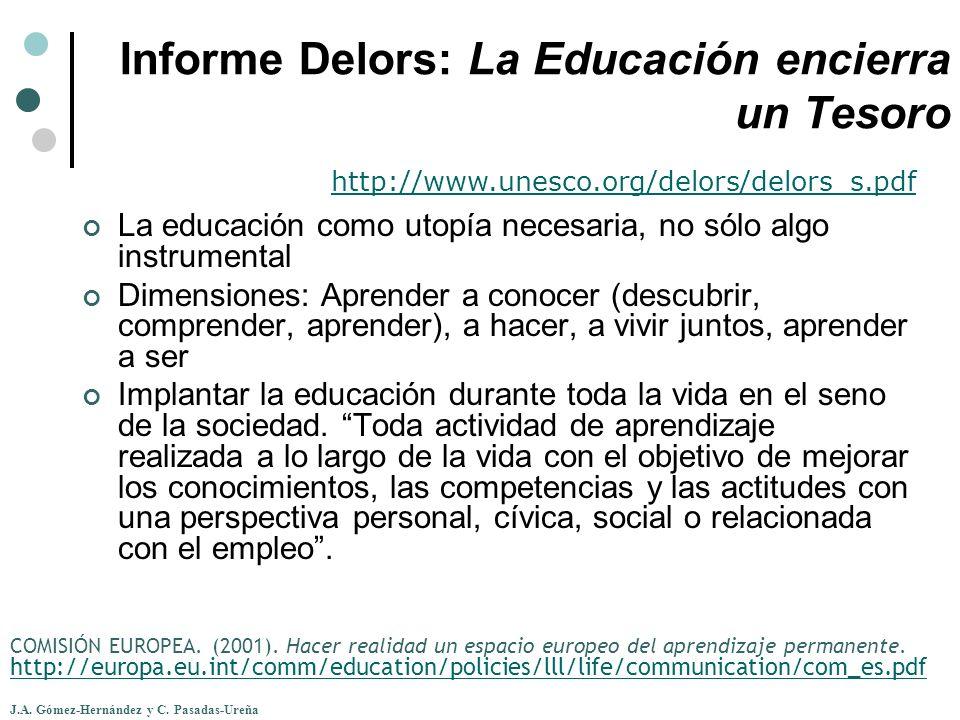 Informe Delors: La Educación encierra un Tesoro