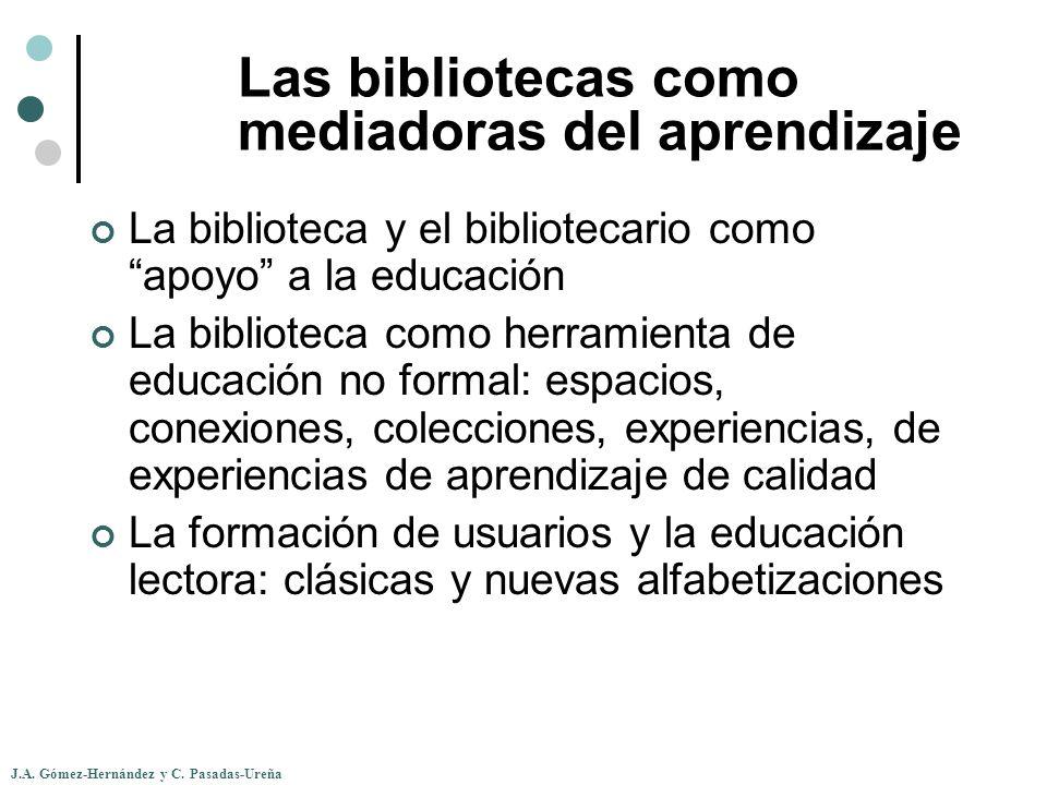 Las bibliotecas como mediadoras del aprendizaje