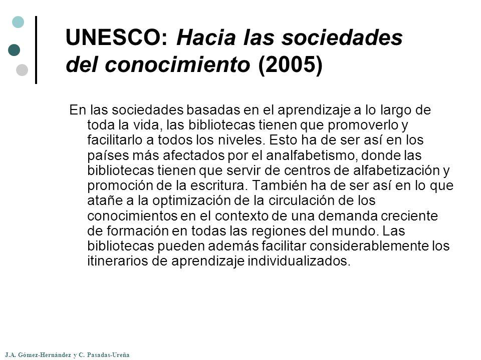 UNESCO: Hacia las sociedades del conocimiento (2005)