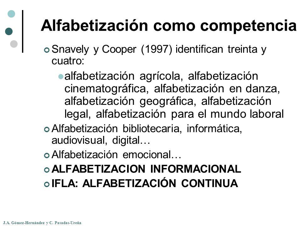 Alfabetización como competencia