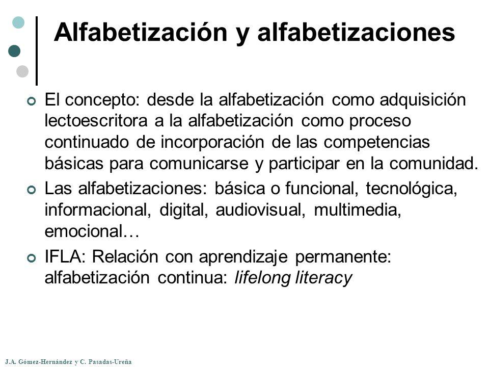 Alfabetización y alfabetizaciones