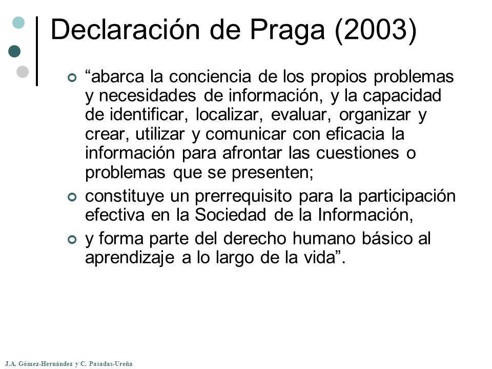 Declaración de Praga (2003)