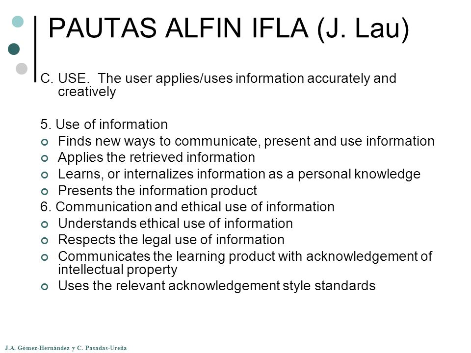 PAUTAS ALFIN IFLA (J. Lau)