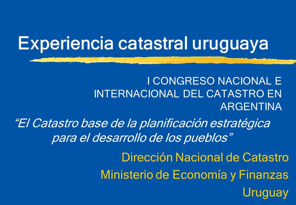 Experiencia catastral uruguaya