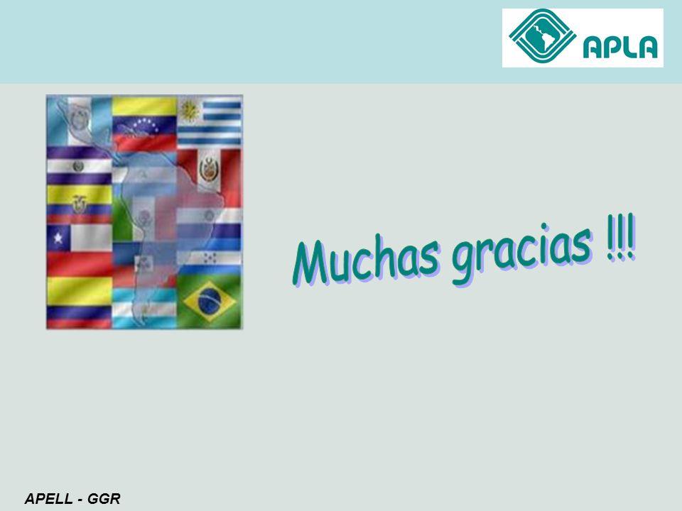 Muchas gracias !!! APELL - GGR