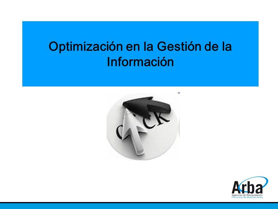 Optimización en la Gestión de la Información