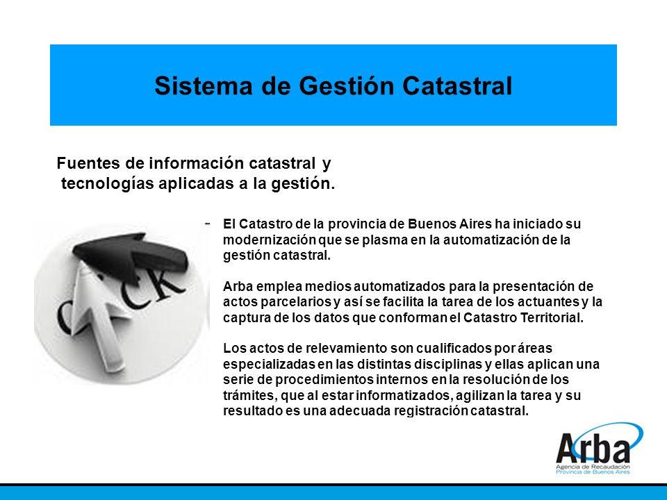 Sistema de Gestión Catastral