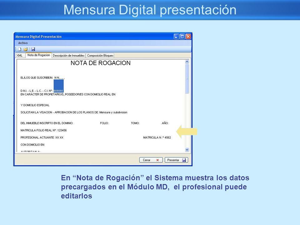 Mensura Digital presentación