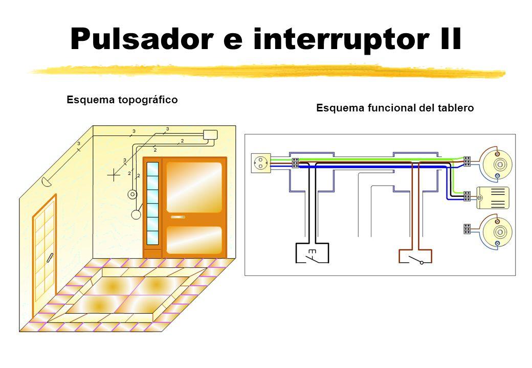Pulsador e interruptor II