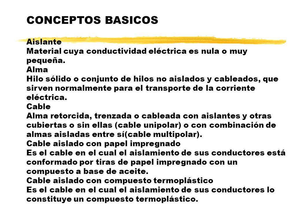 CONCEPTOS BASICOS Aislante