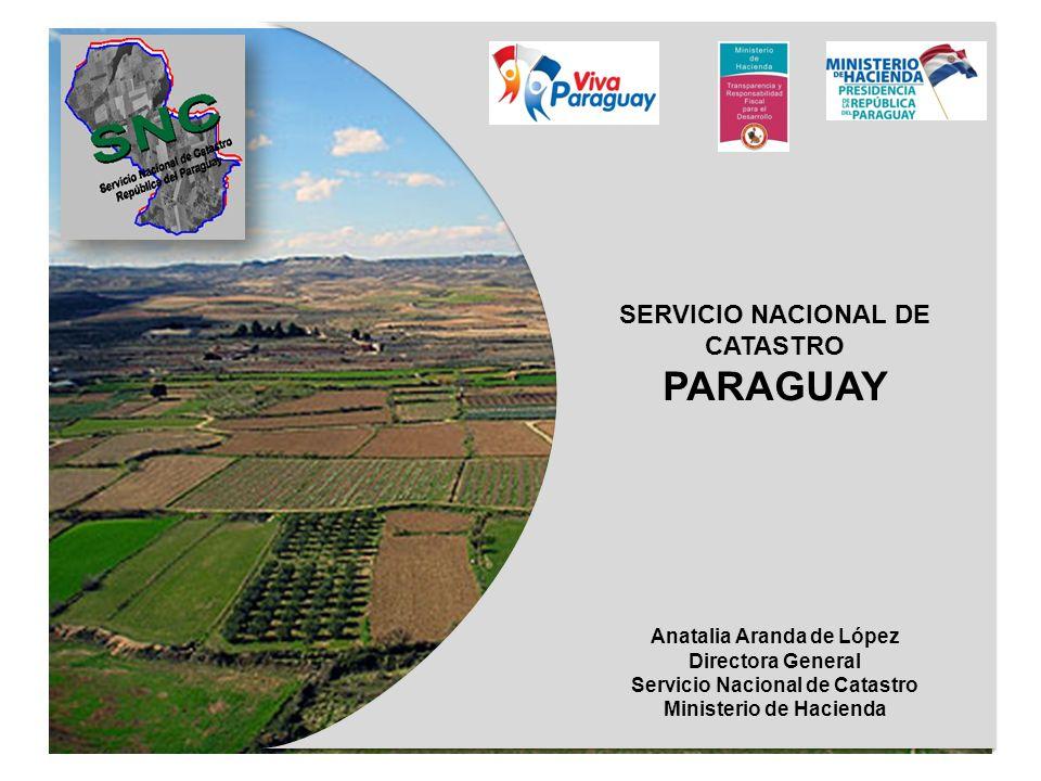 PARAGUAY SERVICIO NACIONAL DE CATASTRO Anatalia Aranda de López